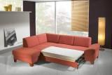 Moderní rozložená sedací souprava Aksamite, model Adric